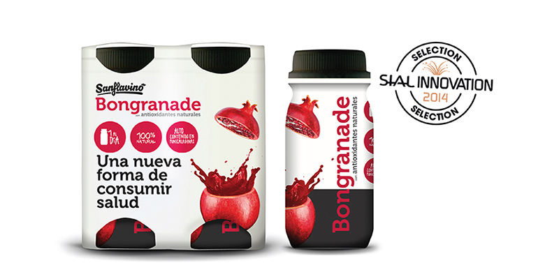 Nutritivo zumo de granada premiado en Sial por su proceso innovador