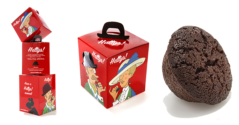 Delicioso bocado de chocolate artesanal, apto para celíacos