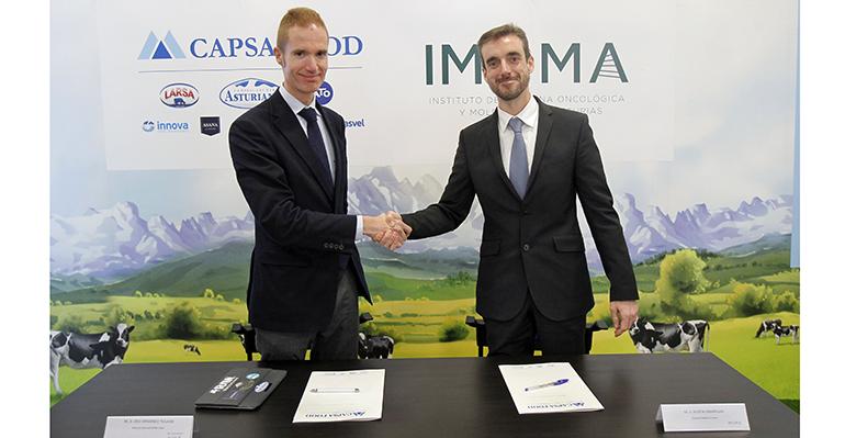 Imoma y Capsa Food colaboran para avanzar en el desarrollo de productos dirigidos a la mejora de la salud