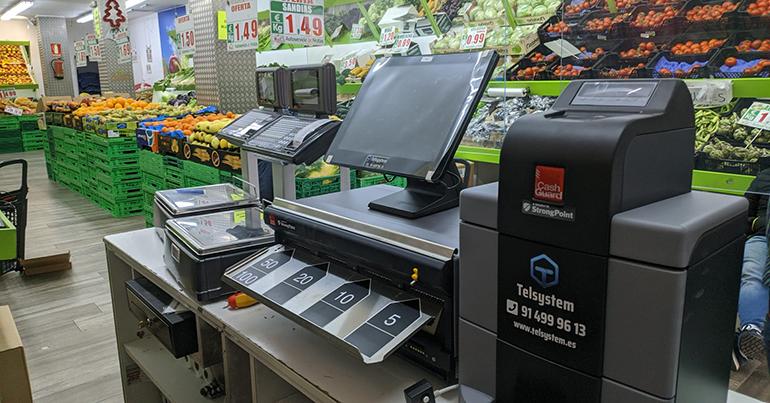 Sistema inteligente de cobro en efectivo para comercio