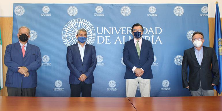 Nace la Cátedra Primaflor de Agricultura Sostenible y de Alimentación Saludable en la Universidad de Almería