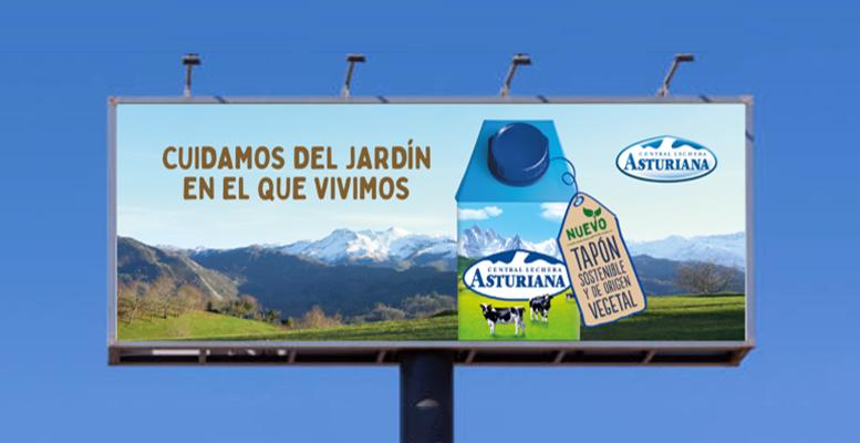 Central Lechera Asturiana lanza los nuevos briks con materiales elaborados con caña de azúcar para reducir emisiones