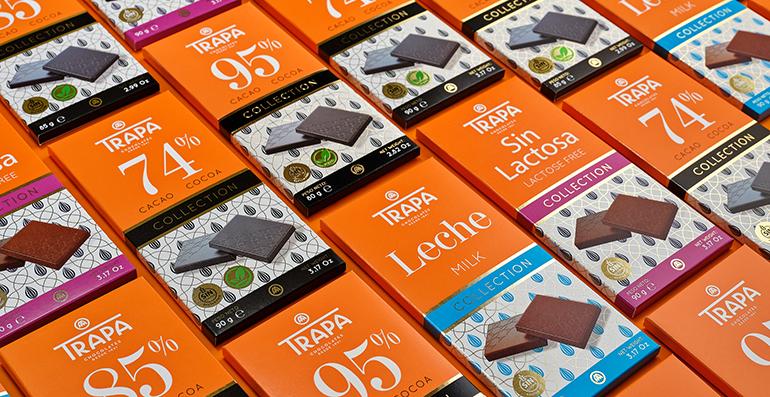 Chocolates Trapa aterriza en Brasil y Alemania dentro de su proyecto de internacionalización