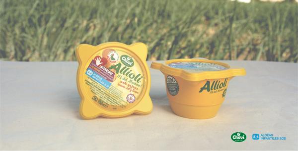 Alioli y otras salsas solidarias que ayudan a la infancia más vulnerable