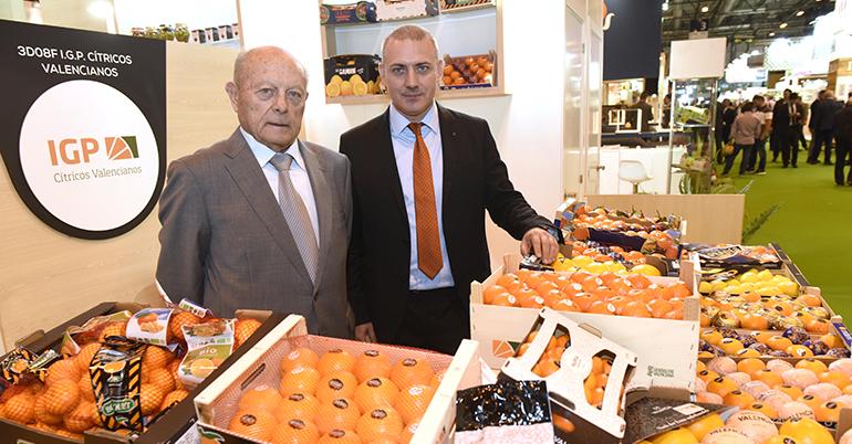 IGP Cítricos Valencianos muestra el crecimiento de esta marca de calidad en Fruit Attraction