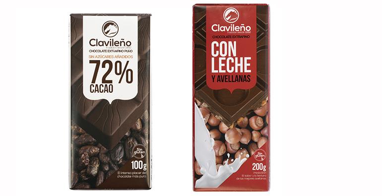 Tabletas de chocolate para los que les gusta cuidarse y aquellos que aman el sabor más tradicional