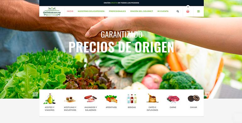 Caso de éxito de un ecommerce gourmet en plena pandemia: Club Delicatessen