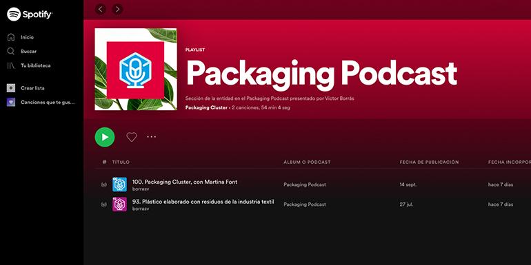 La actualidad y vanguardia del envase se dan cita en los Packaging Podcast  de Spotify