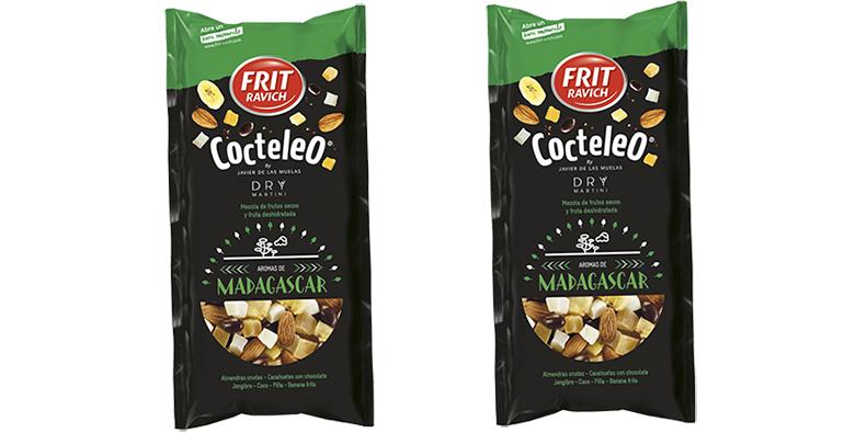 Cóctel de frutos secos que transportan a distintos países a través del paladar