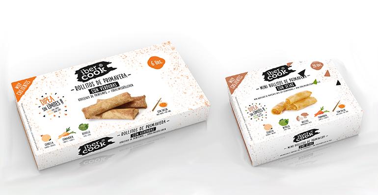 Rollitos y mini-rollitos de primavera fabricados en Galicia