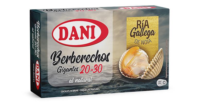 Berberechos de ría, origen Galicia