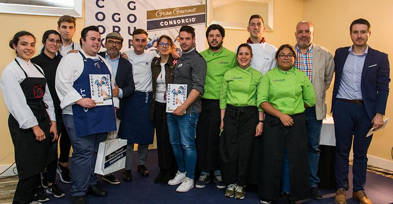 Un alumno de la Escuela de Hostelería i Turismo de Girona gana el concurso nacional 'Cooking Gran Gourmet 2019´ de Grupo Consorcio
