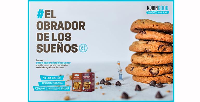 Robingood - Alimentos con Alma lanza una campaña de crowfunding para abrir un obrador de pan social en Barcelona
