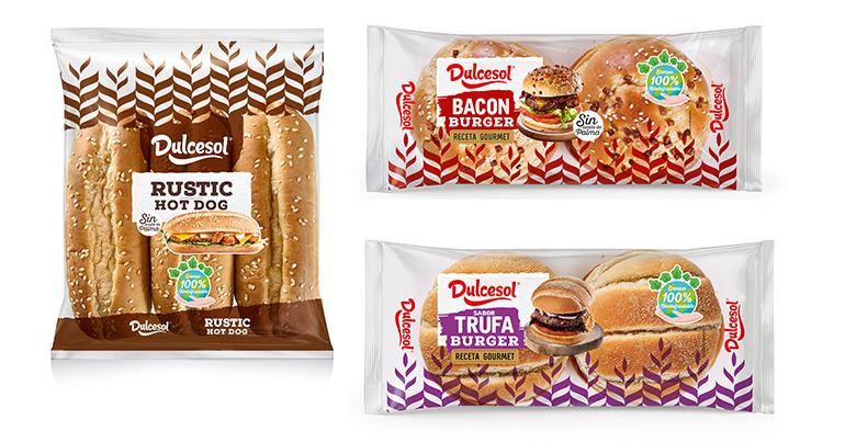 Nuevos pan de burger bacon, pan de burger trufa y hot dog rústico