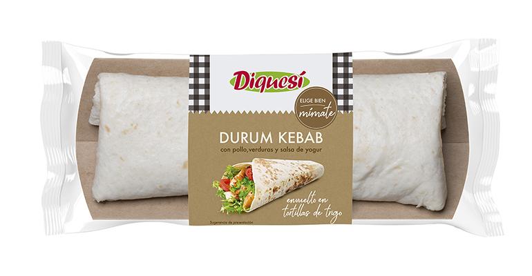 Durum Kebab, un viaje exótico a través de un plato fresco, saludable y listo para comer