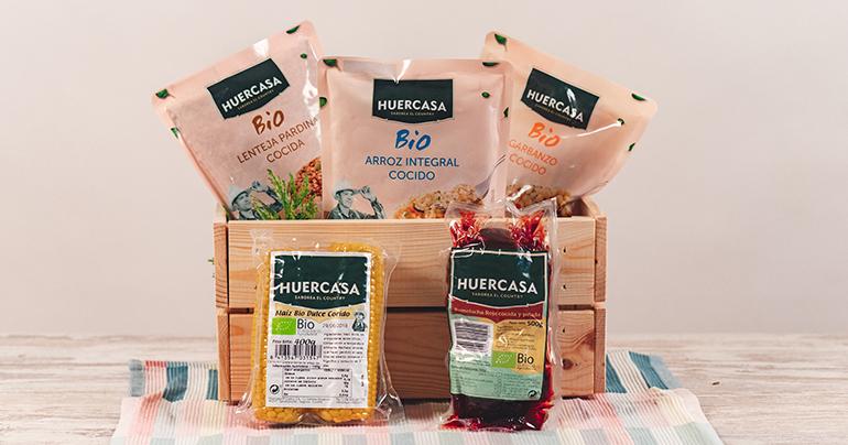 Huercasa presenta su línea bio de V gama en Fruit Logística