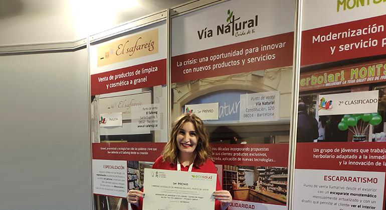 Vía Natural, ganadora del Premio EcoSalud de Innovación en el Punto de Venta