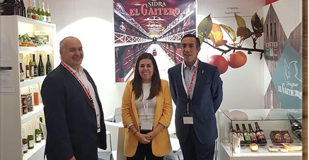 El Gaitero muestra su amplio portfolio de sidras y otros productos en Anuga