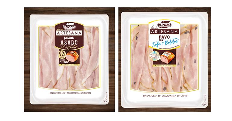 ElPozo Familia Artesana añade dos miembros: pavo con trufa y boletus, y jamón asado westfalia
