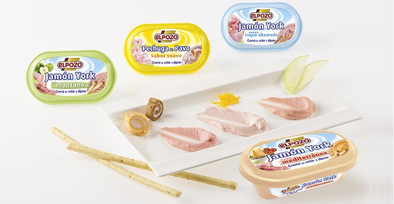 Nuevo sabor en la gama de cremas para untar y dipear: jamón york con