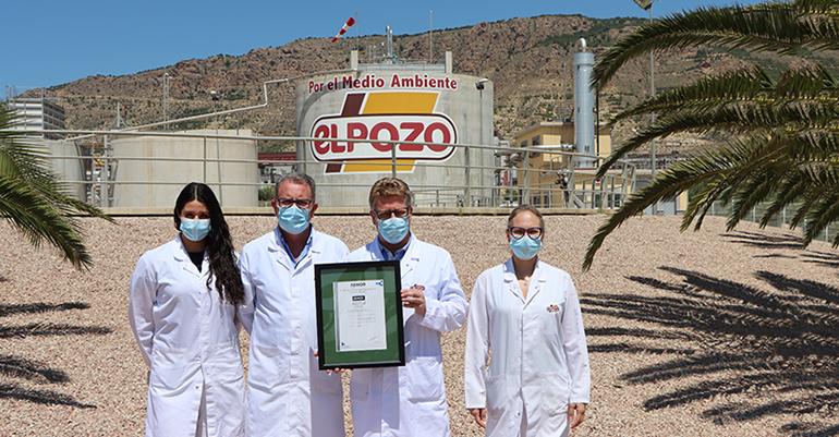 El Pozo Alimentación obtiene la certificación Residuo Cero de Aenor