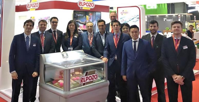 ElPozo Alimentación muestra su extensa gama de productos en Sial China