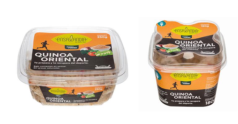 Green Power, ensaladas con quinoa que ayuda a deportistas