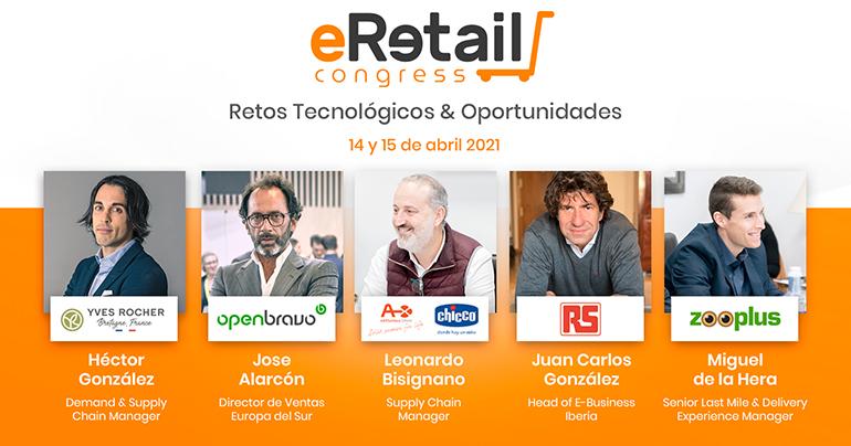 Los retos de la logística ante la explosión del eCommerce, a debate en eRetail Congress 2021