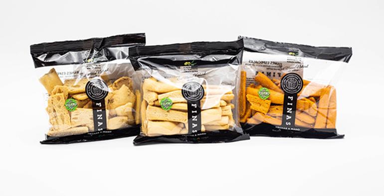 Panes especiales artesanos, con aceite de oliva y sin aditivos, pensados para compartir