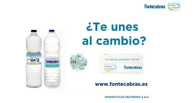 Únete al Cambio: una segunda vida a las botellas PET de agua convirtiéndolas en estuches