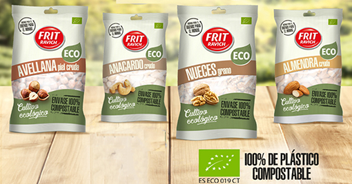 Frutos Secos Ecológicos con envase 100% compostable