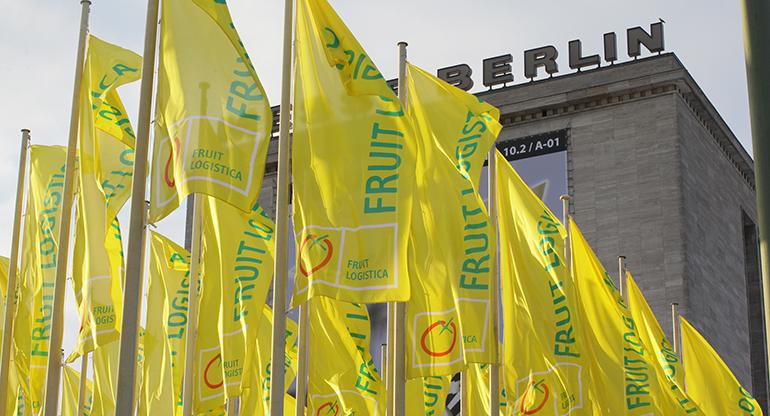 Fruit Logística vuelve del 9 al 11 de febrero de 2022 en formato presencial a Berlín