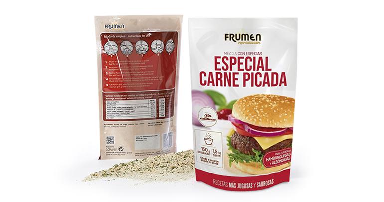 Especial Carne Picada: mezcla de pan rallado y especias que aporta jugosidad y sabor