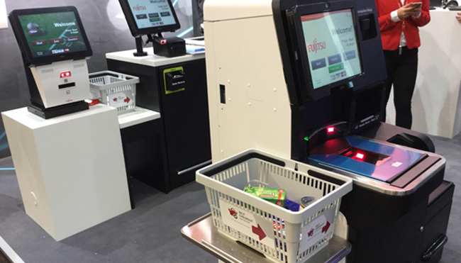 Fujitsu muestra la tienda más
