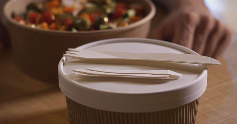 'Paper Cutlery', una innovadora cubertería de papel de un solo uso