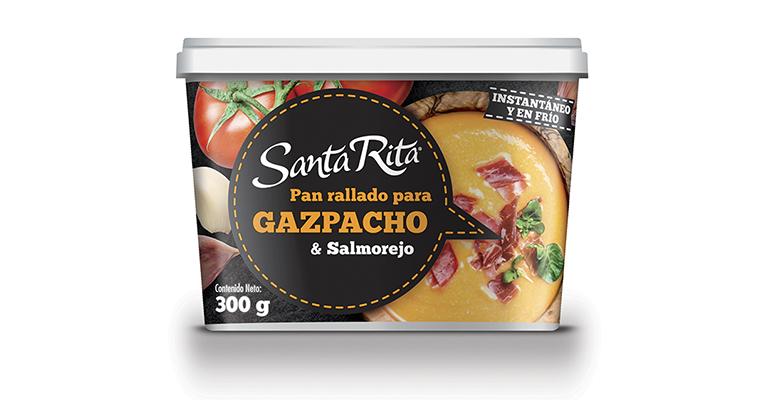 Pan rallado para espesar sopas frías como salmorejo y gazpacho