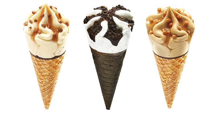 Gamas de helado premiadas internacionalmente por su innovación