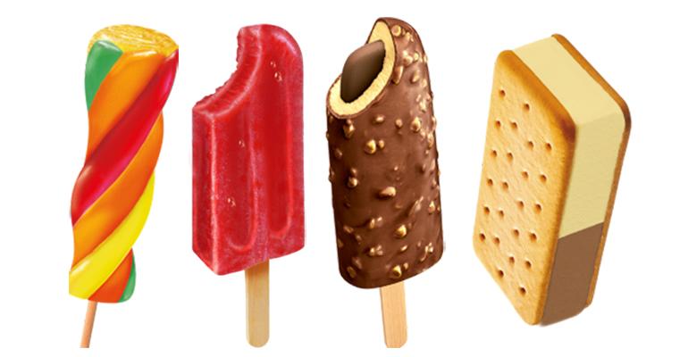 Gama de helados con lo mejor de la fruta y leche para este verano
