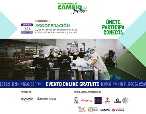 Danone y el Centro Mundial de Valencia para la Alimentación Urbana Sostenible presentan el viernes la primera jornada Alimentando el Cambio Juntos
