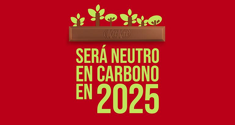 KitKat será neutra en carbono para 2025