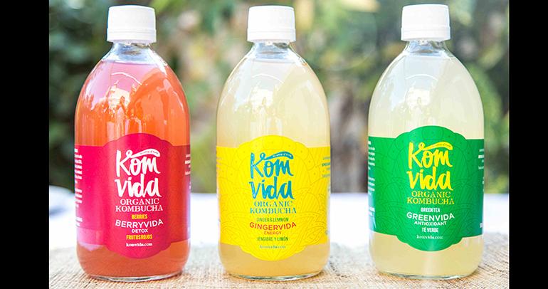 Bebidas 100% ecológicas, detox y digestivas