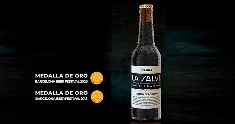 Cerveza negra edición de invierno, con la fórmula tradicional que se bebía en Bilbao en los años 40