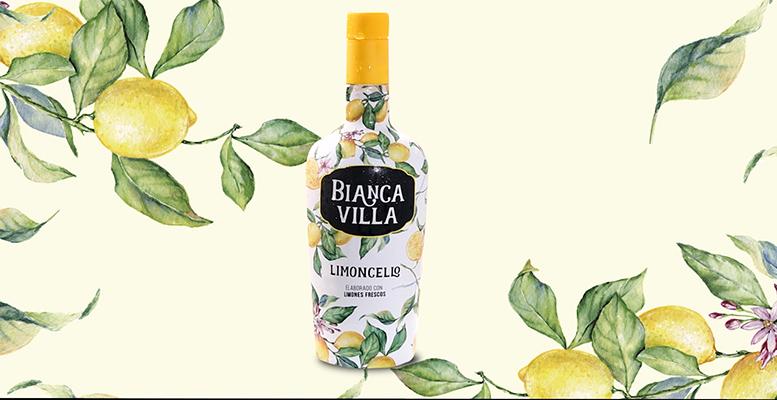 Bianca Villa, limoncello con acento mediterráneo e ingredientes de primera