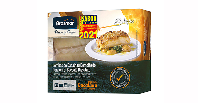Lomo y Trozos de Bacalao Congelado, Sabor del Año Portugal 2021