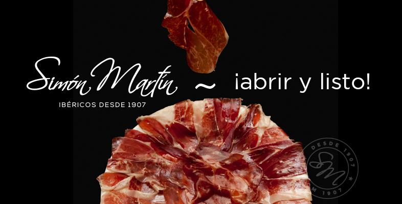 Los loncheados de jamón ibérico Simón Martín Guijuelo ideales para las tiendas Gourmet