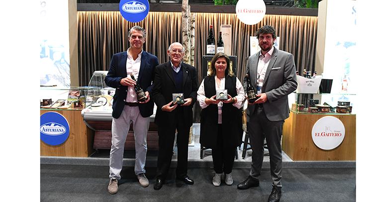 Queso y sidra, Sidra y queso: Central Lechera Asturiana y Grupo El Gaitero muestran lo bien que casan en Salón Gourmets
