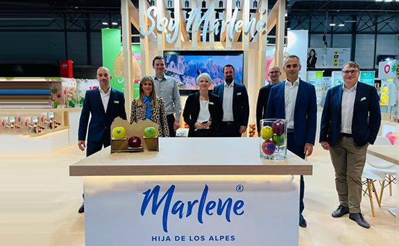 Balance más que positivo del Consorcio VOG y manzanas Marlene sobre Fruit Attraction 2021