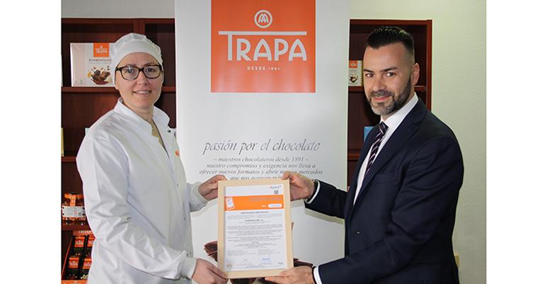 Chocolates Trapa renueva por tercer año el certificado IFS Food