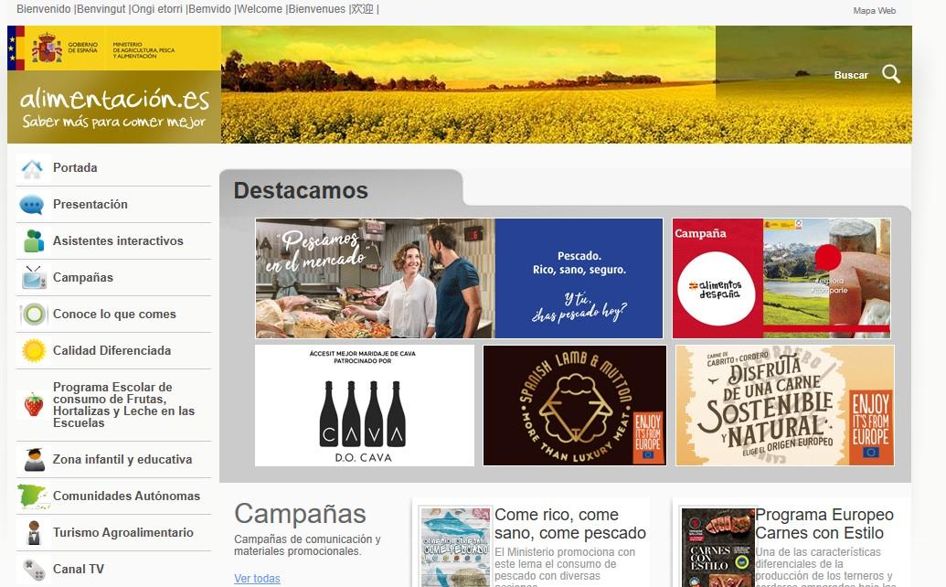 """El Ministerio de Agricultura, Pesca y Alimentación promociona el consumo de los """"Alimentos de España"""""""