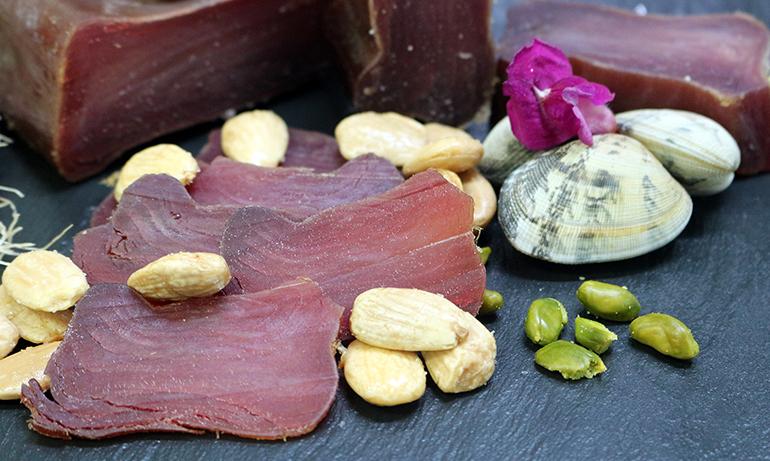 Mojama de atún extra, pescada de forma sostenible y certificada con sello MSC